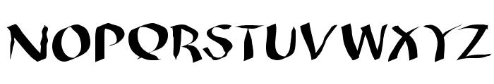 WildQuill Font UPPERCASE