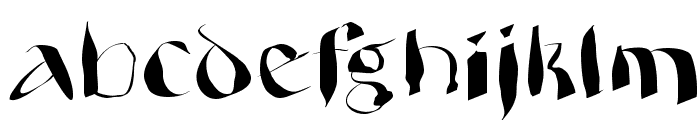 WildQuill Font LOWERCASE