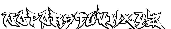 WildStyle_Basic Font UPPERCASE