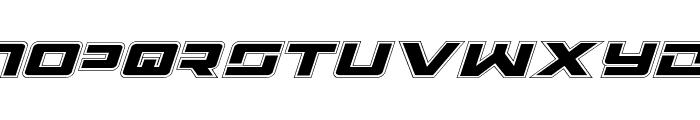Wildcard Academy Italic Font LOWERCASE