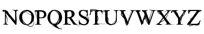 Wilderness Font UPPERCASE