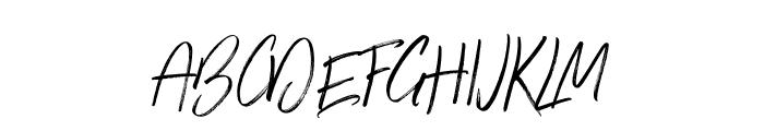 WildernessTypeface-Regular Font UPPERCASE