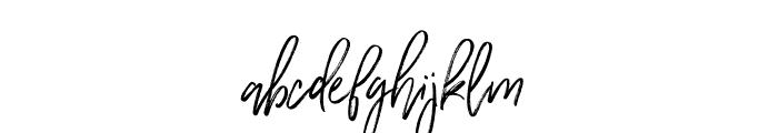 WildernessTypeface-Regular Font LOWERCASE