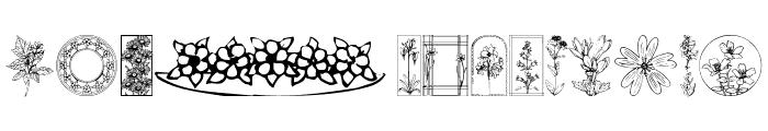 Wildflower II Font LOWERCASE