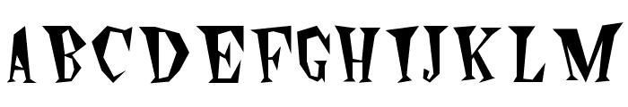 Wildside Plain Font UPPERCASE
