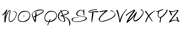 Wildstyle Font UPPERCASE