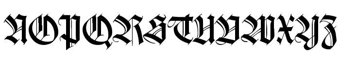 WilhelmKlingsporGotisch Font UPPERCASE