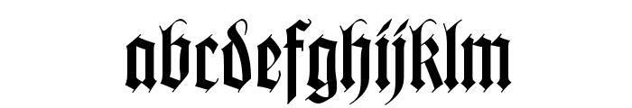 WilhelmKlingsporGotisch Font LOWERCASE