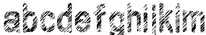 Wilhomena Font LOWERCASE