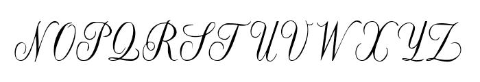 Willegha [Unregistered] Font UPPERCASE