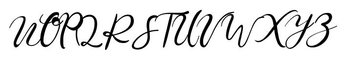 William Font UPPERCASE