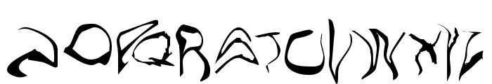 Willo the Wisp Font UPPERCASE