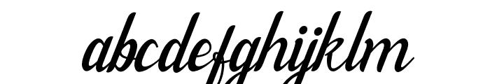 Willona Italic - PU Italic Font LOWERCASE