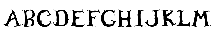 Willowheart Font UPPERCASE