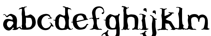 Willowheart Font LOWERCASE