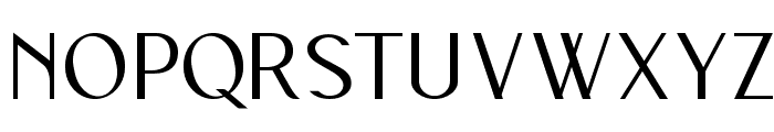 Wilma Mankiller modern Font UPPERCASE