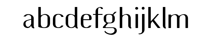 Wilma Mankiller modern Font LOWERCASE