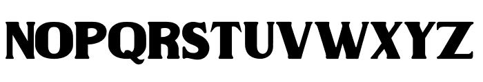 Wilson hawk Font LOWERCASE