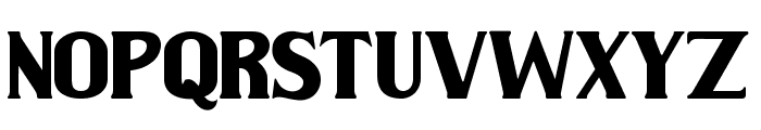 Wilson hawk Font UPPERCASE