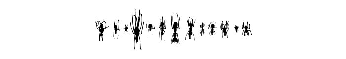 Win Bugs Font LOWERCASE