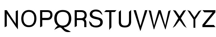 Wind Sans Serif regular Font UPPERCASE