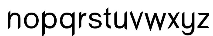 Wind Sans Serif regular Font LOWERCASE