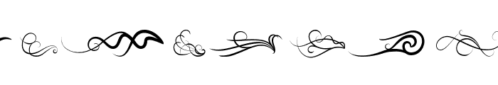Wind of Change Font LOWERCASE