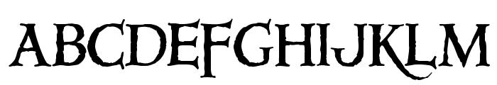 Windlass Font UPPERCASE