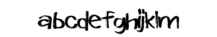 WindowMarkers Font LOWERCASE