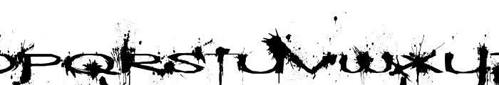 Windshield Massacre Font LOWERCASE