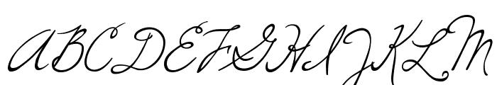 Windsong Font UPPERCASE