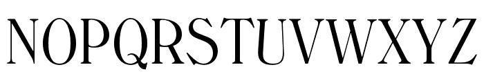 WindsorOpti-LightCondensed Font UPPERCASE