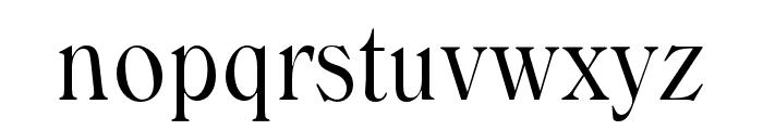WindsorOpti-LightCondensed Font LOWERCASE
