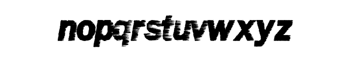 WindyMetro Font LOWERCASE