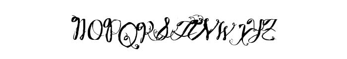 WineBasement Font UPPERCASE