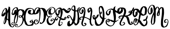 WineTasting Font UPPERCASE