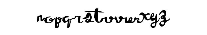 WineTasting Font LOWERCASE