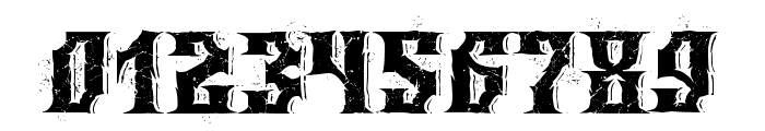 Wings of Darkness Font OTHER CHARS
