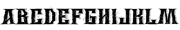 Wings of Darkness Font UPPERCASE