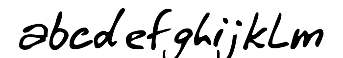 Winkie Font LOWERCASE
