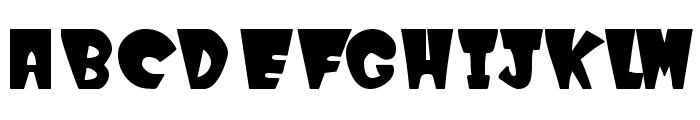 WinksFilled Font UPPERCASE