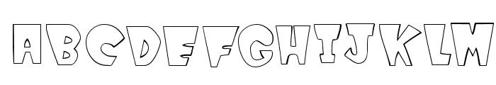WinksOutline Font UPPERCASE