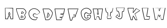 WinksOutline Font LOWERCASE