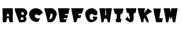 Winks Font LOWERCASE