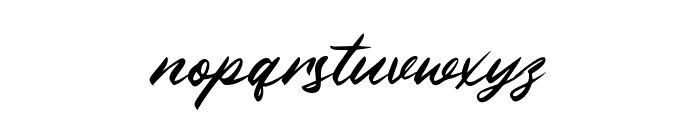 Winsberg Font LOWERCASE