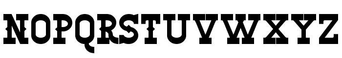 Winslett Bold Font UPPERCASE