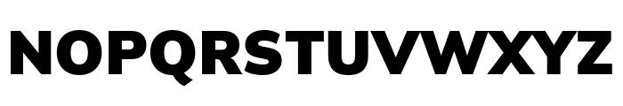 Winston Black Font UPPERCASE