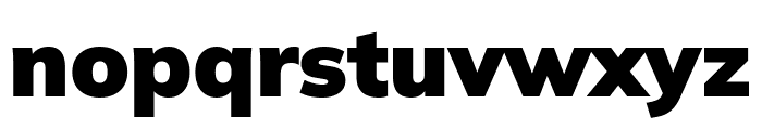Winston Black Font LOWERCASE