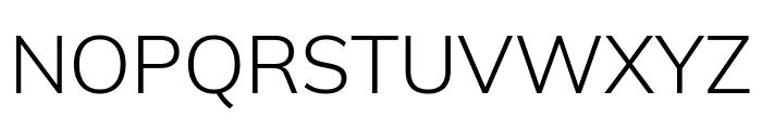 Winston Light Font UPPERCASE