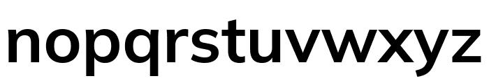 Winston SemiBold Font LOWERCASE